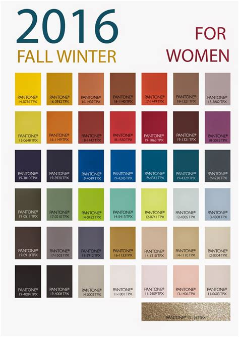 7 Winter Color Trends by Patone S Winter 2016 S Color Forecast From Store
