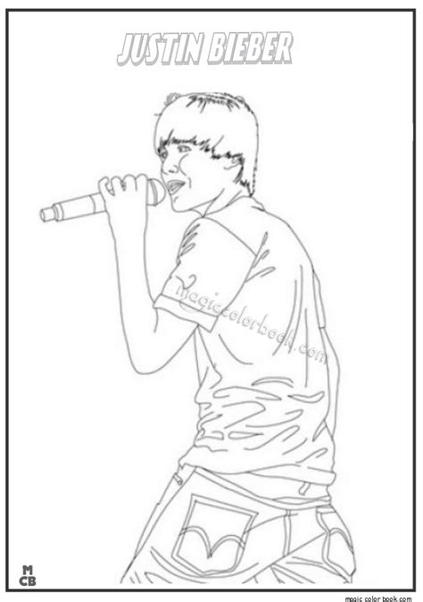 coloring pages of people s names famous people coloring pages justin bieber 01