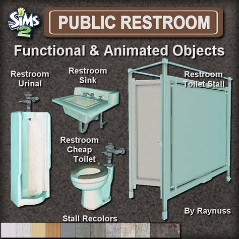 bathroom stall game imagine that the public restroom set sims 2 downloads