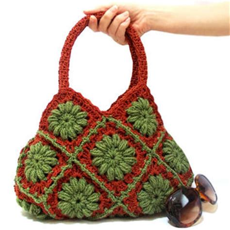 Handmade Crochet Purses For Sale - shop square bag on wanelo