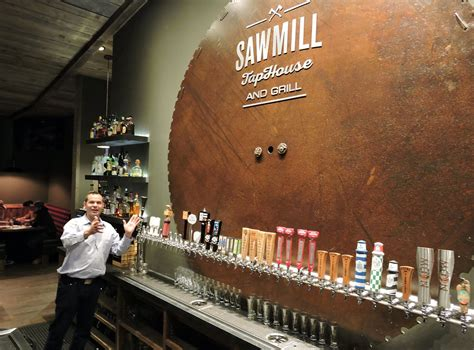 sawmill tap room the sawmill taphouse and grill is destined for greatness