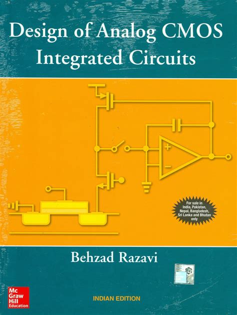cmos integrated circuit design of analog cmos integrated circuits 1st edition buy design of analog cmos integrated