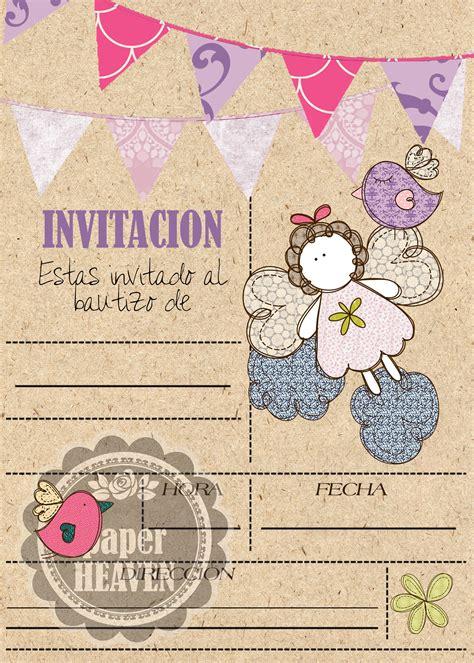 Invitaci N De Bautizo De Ni A Para Imprimir Tarjetas Invitaci 243 N Para Bautizo Quot Serenidad by Bautizo