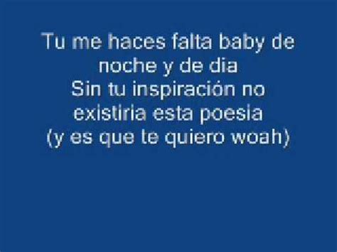 te quiero baby baby te quiero video lyrics youtube