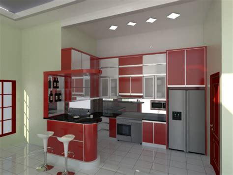 Per Meter Kitchen Set harga kitchen set aluminium per meter terbaru dan murah