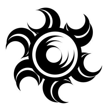 moon tattoo png tribal sketch 365 6 by darkmoon17 on deviantart