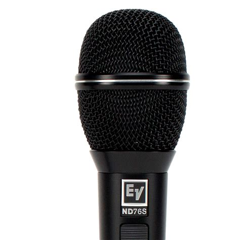 The Voice Microphone electro voice nd76s dynamic cardioid vocal microphone with on switch