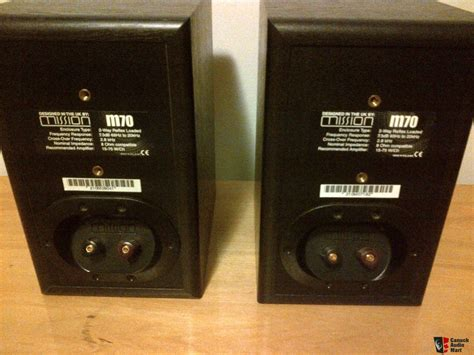 mission m70 bookshelf speakers photo 1406350 canuck