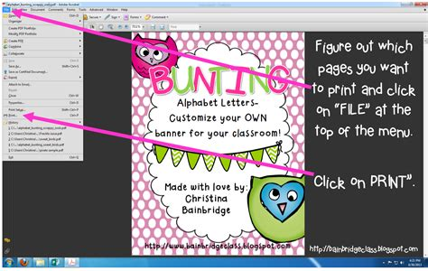 bunting books and bright ideas an adobe printing bunting books and bright ideas an adobe printing
