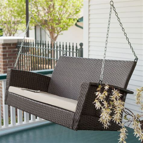 porch swing wicker best 25 wicker porch swing ideas on pinterest porch