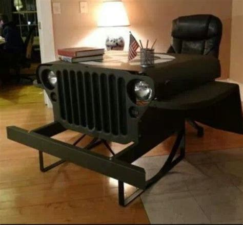 Cave Desk by Cave Jeep Desk