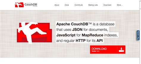 apache couch db top 12 commendable tools to leverage web developers