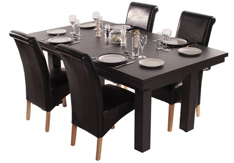 Black Dining Room Set by The Amalfi Pool Dining Table Liberty Games