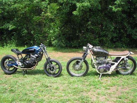 kawasaki 250 mayonaka one up moto garage