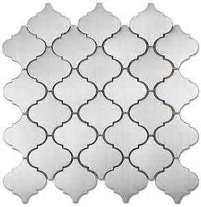 arabesque mosaic stainless steel tile