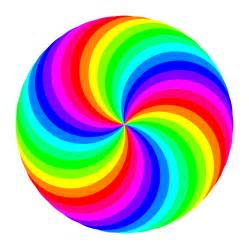 colorful swirls rainbow swirl clipart