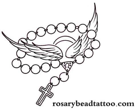 tattoo designs rosary beads cross small christian designs