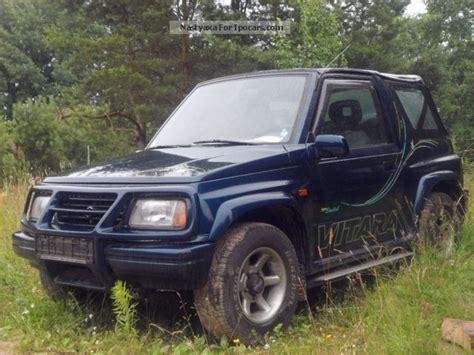 Suzuki Vitara 1997 1997 Suzuki Vitara Car Photo And Specs