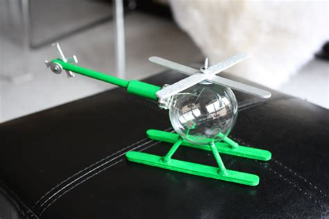 helicopter christmas ornament decor m o d f r u g a l