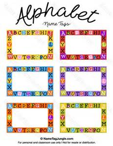 Name Puzzle Template by 25 Best Ideas About Printable Name Tags On