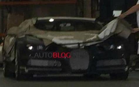 camo bugatti bugatti chiron spied wearing heavy camo