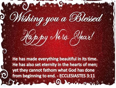 wishing you a happy blessed new year wishing you a blessed happy new year pictures photos and images for