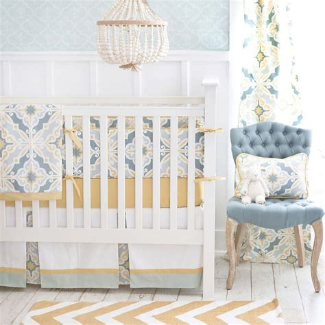 gold unisex baby bedding