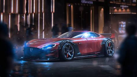 mazda rx vision concept wallpapers images  pictures