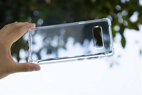 Spigen Rugged Clear For Samsung Note 8 Original spigen launches samsung galaxy note 8 cases available now