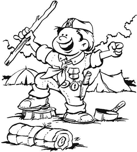 Scout Promise Coloring Page Free Dessins De Scouts 224 Colorier by Scout Promise Coloring Page Free