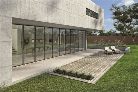 sliding glass walls nanawall systems launches innovative opening glass wall