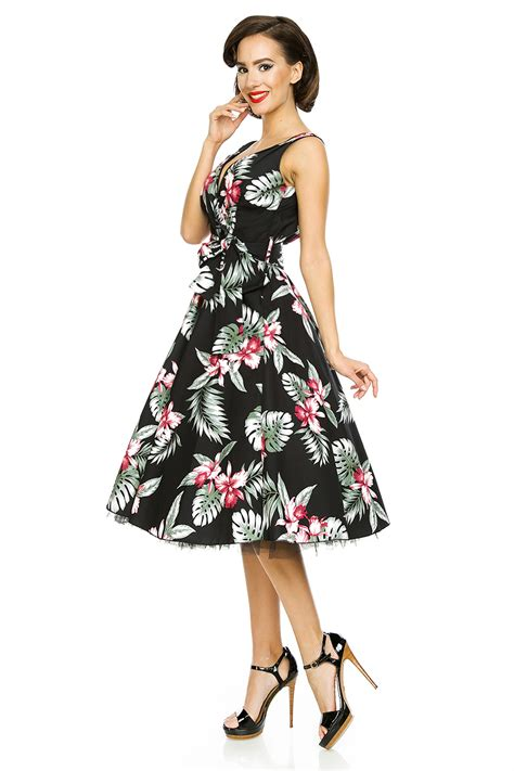 pin up swing dress classic 1950 s retro vintage rockabilly swing pin up dress