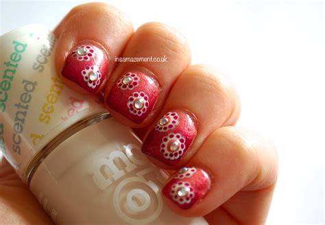 japanese nail pattern in samazement japanese inspired floral nail art tutorial