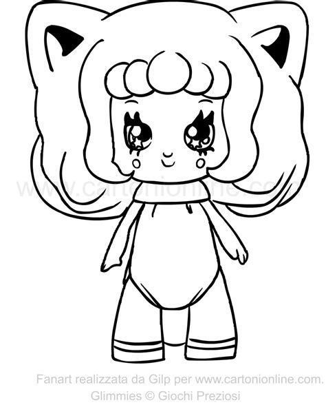 Foxanne Of The Glimmies Coloring Page Coloring In Pictures