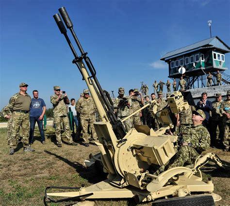 Ukraine tests new Ukrainian made weapons, military ... Ukraine Military Equipment