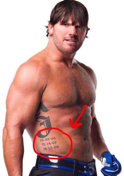 aj styles tattoo meaning aj styles amino