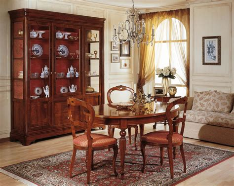 Showcase Dining Room by Dining Room 19th Century Table And Glass Showcase