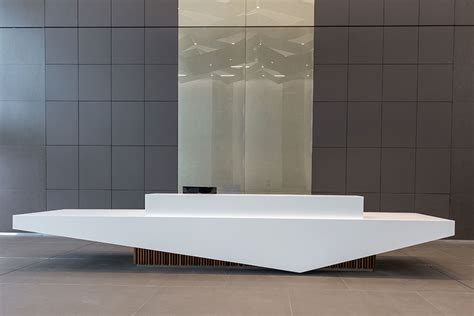 Corian Reception Desk Washroom Washroom Study The Bower Stockley Park