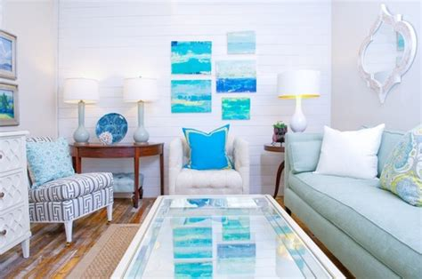 ocean themed living room 8 beach homes that don t come close to making us seasick