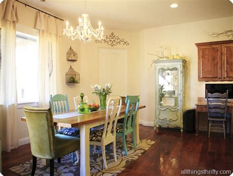 Cottage Style Dining Room Chairs Valspar Cliveden Mist Dining Rooms Pinterest Chairs Cottage Style And Dining Rooms