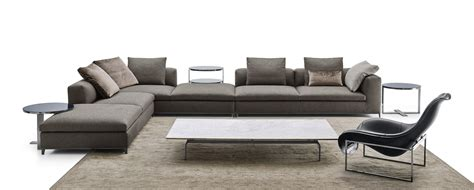 b b italia sofa corner sectional fabric sofa michel club by b b italia