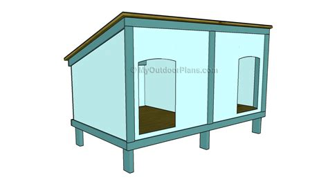 outdoor dog house plans outdoor dog house plans 187 plansdownload