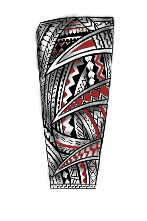 samoan warrior tribal tattoos forearm concept artwork