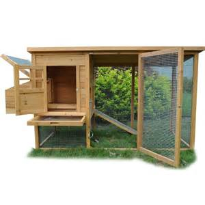 Duck Hutch Plans Large Chicken Coop Poultry Ark Coup Hen Duck House Fowl