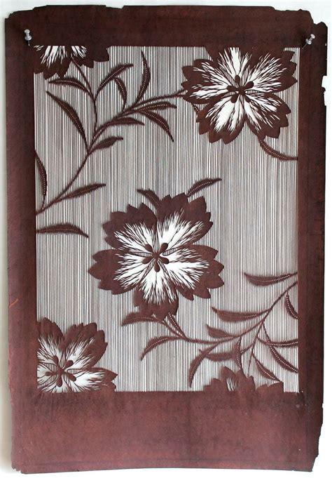 kimono pattern stencil 1000 images about katagami inspiration on pinterest