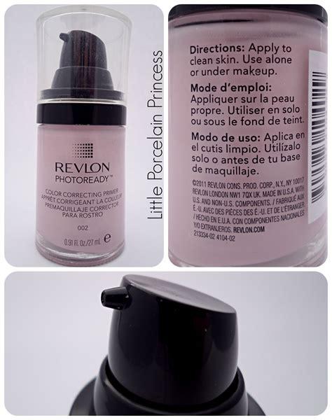 Foundation Primer Revlon Porcelain Princess Review Revlon Photoready Color