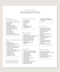 checkliste baby kinderzimmer babys erstausstattung mit checkliste zum das