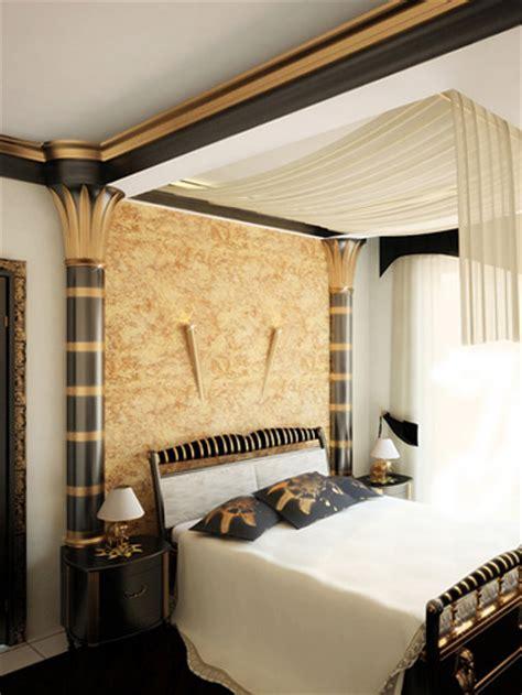 egyptian interior style modern room decorating ideas