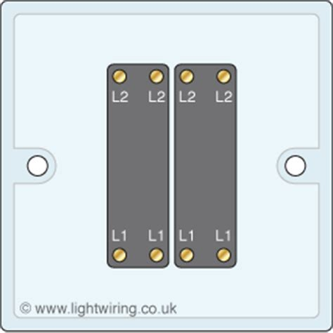 intermediate light switch light wiring