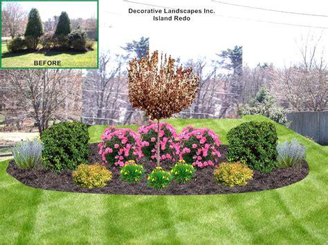 Backyard Ideas For Landscape Ideas For Backyard Islands The Garden